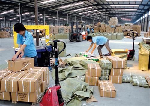 惠州到上饶物流公司承接零担运输