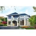 销量超高的二层自建房屋设计图,两个配色方案供您选择