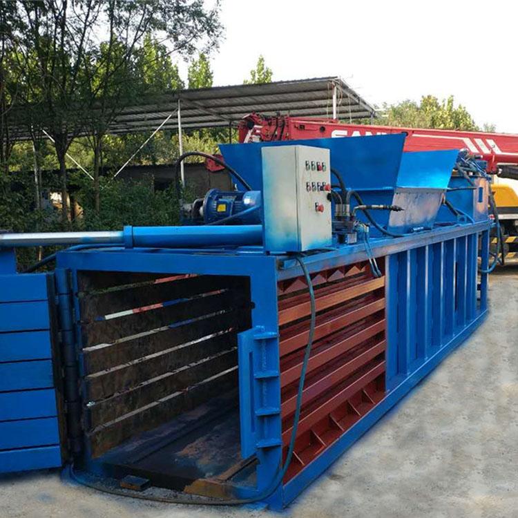 荆州编织袋打包机 山西废纸板打包机 立式半自动废品打包机