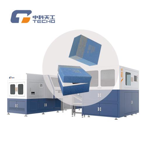 中科天工TG-TP30P型全自动精品茶盒制盒线操作简单