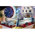 盾構機模型,絞車模型,機械施工模型