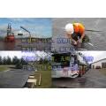 臨時道路鋪路板復合材料鋪路墊板重量輕高承重鋪路墊板的特點
