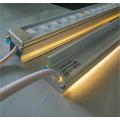 楼体亮化低压节能LED硬灯条暖白48珠洗墙线条灯