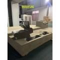 山東淄恒翔廠家生產博聚氨酯軟泡海綿仿形切割機 家具棉機械