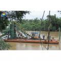 河道淘金船/链斗式淘金船价格