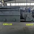 河南洛阳砖厂防爆覆膜除尘器150袋单机喷吹除尘设备