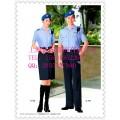 保安夏季工作服短袖外套裤子 物业保安夏装图片上海亿妃服饰