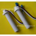 发热管,陶瓷电加热管生产厂家凯瑞宏星定制可干烧电热管!