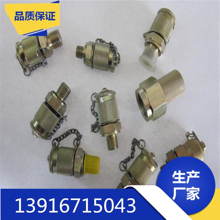 厂家直销测压管接头G1/4 尼龙 压力表线 微型高压测压管