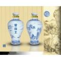东莞陶瓷酒瓶厂家报价 陶瓷酒具1斤厂家供应