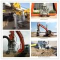 江河沿岸液压式挖机清淤泵_专配挖机抽沙泵