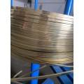 供应H65拉链黄铜扁线