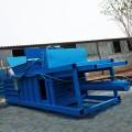 紙殼臥式壓縮打包機 浙江半自動臥式打包機 秸稈稻草壓塊機