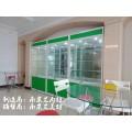 南京培训中心玻璃展示柜