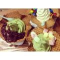 時尚伯諾瓦冰淇淋輕松吸客