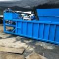 臥式廢品打包機 廢品下腳料液壓打包機 液壓半自動廢紙殼打包機