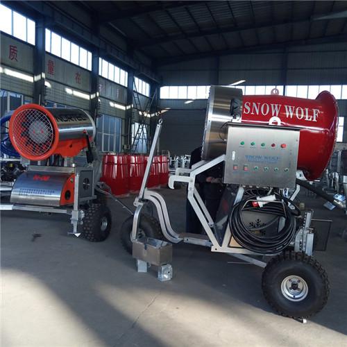 价格便宜质量好的国产人工造雪机每小时用水电价格