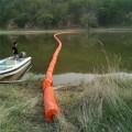 飲用水源上游攔污網浮球攔漂裝置