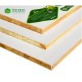 板材十大品牌百的寶E0級杉木芯環保生態板衣柜家具板材深雕暖白