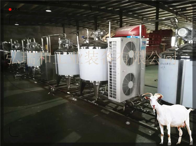 羊奶巴氏杀菌流程-巴氏羊奶生产过程-酸羊奶设备