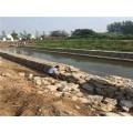 石籠網墊坑基支護-水庫加固石籠墊防溢洪