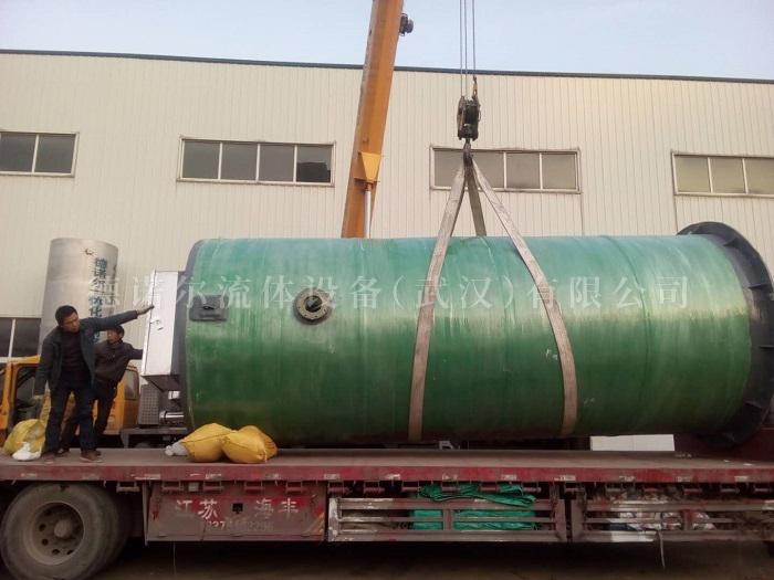 长沙 一体化玻璃钢提升泵站 生产厂家