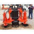 湖北河道清淤大排量電動泥漿泵 河壩潛水清淤泵