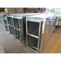 隆宇消聲器靜壓箱風管消音箱管道靜壓箱風管排煙靜壓箱廠家直銷