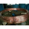 鍍錫銅包鋼圓線導電功用geng佳,表層為無氧銅