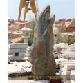 济南4米玉石雕刻的观音菩萨可以供奉吗石雕佛像厂家