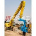 16锰钢挖掘机打桩臂