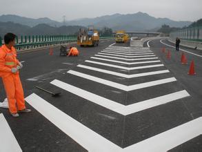 陽西專業施工劃線  江門道路交通標線廠家
