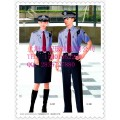 保安夏季工作服新款 保安衬衫 安保制服 物业保安服图片