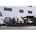 移动履带式建筑垃圾处理生产线介绍JYX79