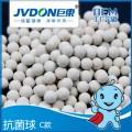 K抑菌礦化球廠家,食品級礦化陶瓷球,白色凈水濾料