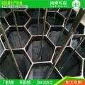 蜂窝式玻璃钢阳极管静电除尘器正边形