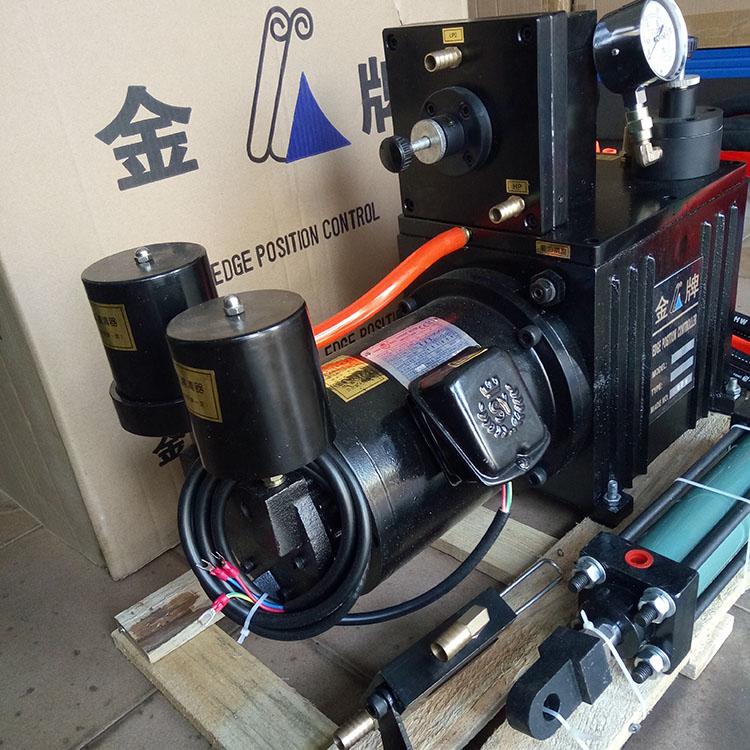 供應廣東地區液壓油對邊機伺服糾偏機