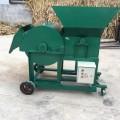 旺丰玉米秸秆干鲜粉碎揉丝机 大型饲料揉丝机 现场试机