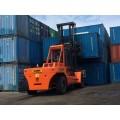 堆放三层重箱32吨叉车 集装箱32吨叉车国内品牌