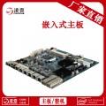 B85主板 两光口 Intel 1150 六千兆网口工控主板
