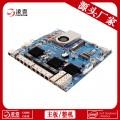 8网口工控主板 DC Intel 多网口工业主板生产厂家深圳