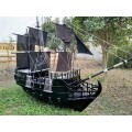 無錫木船廠供應景觀裝飾船海盜船