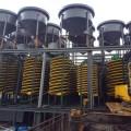 玻璃鋼螺旋溜槽高效重選設備螺旋選礦機處理量大回收率高