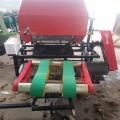固定式打捆包膜一体机农补机械