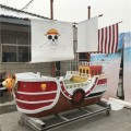 上海景觀木船廠出售大型主題室內裝飾船景觀船