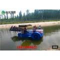 水面雜草太多怎么辦 河南水草清理設備 快速除草船
