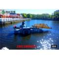 湖面生活垃圾打撈工具 水面漂浮物收集船 河道清漂船