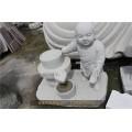 张掖青石十八罗汉玉石雕刻图片六度小沙弥石雕图片