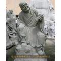 都匀青色石雕名家十八罗汉浙江石雕小和尚