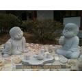 灯塔唐18罗汉石雕刻郑州石雕小和尚